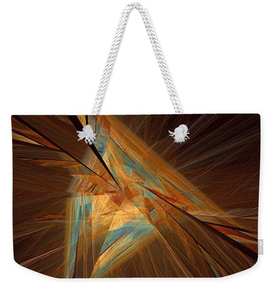 Inlaid Weekender Tote Bag