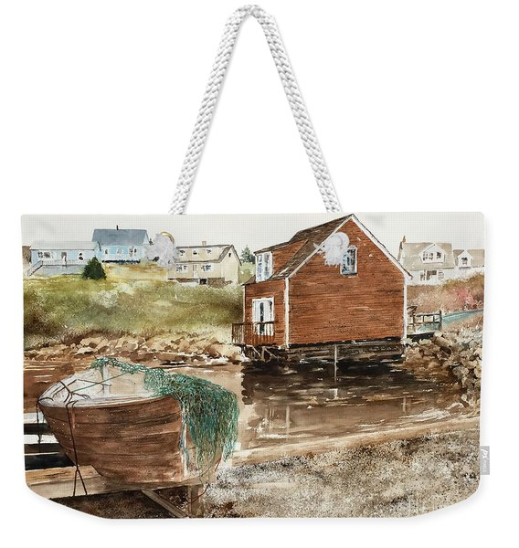 Inlet At Peggy's Cove Weekender Tote Bag