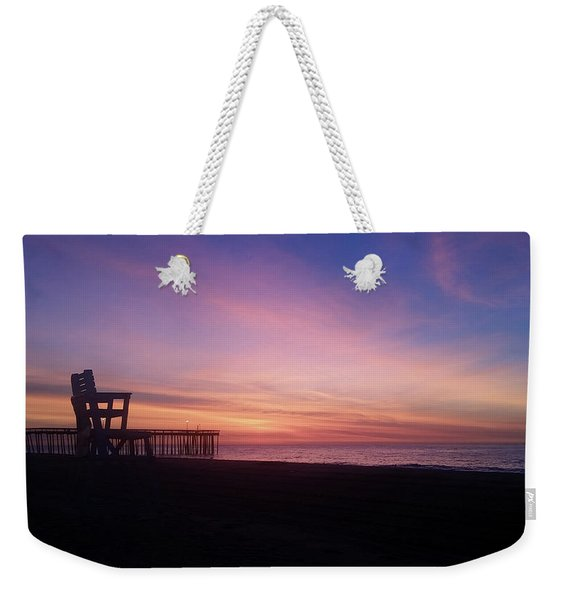 Inlet Beach At Dawn Weekender Tote Bag