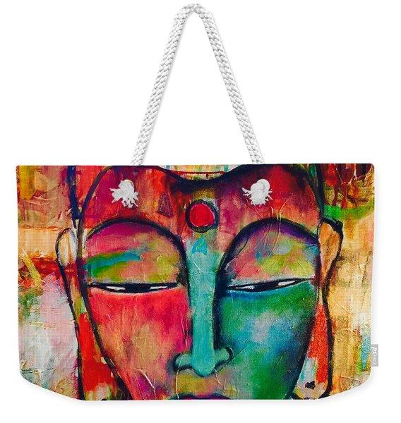 Inner Buddha  Weekender Tote Bag
