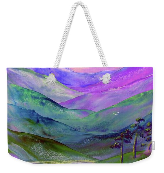 Inner Flame, Meditation Weekender Tote Bag