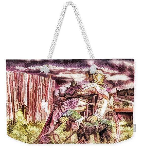 Insanity-digital Weekender Tote Bag