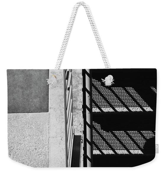 Industrial Motif Weekender Tote Bag