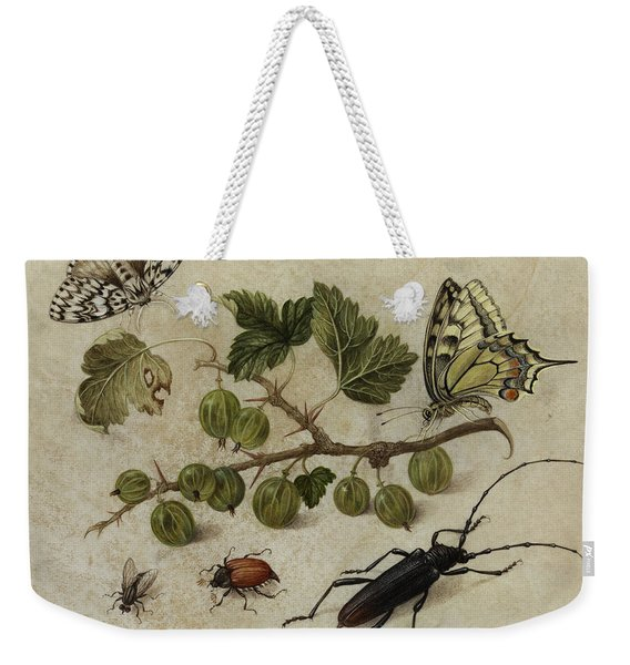 Insects And Butterfly Weekender Tote Bag