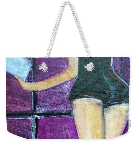 Inside Beauty Weekender Tote Bag