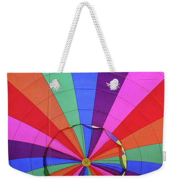 Inside Out Weekender Tote Bag
