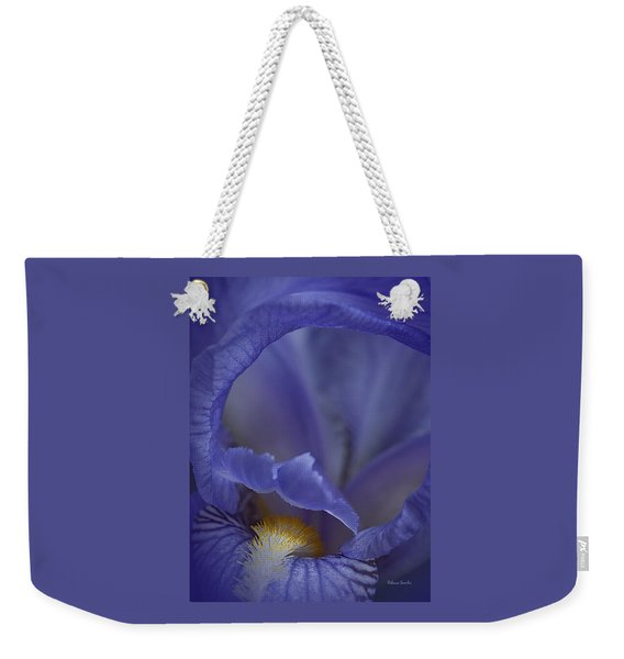 Inside The Iris Weekender Tote Bag