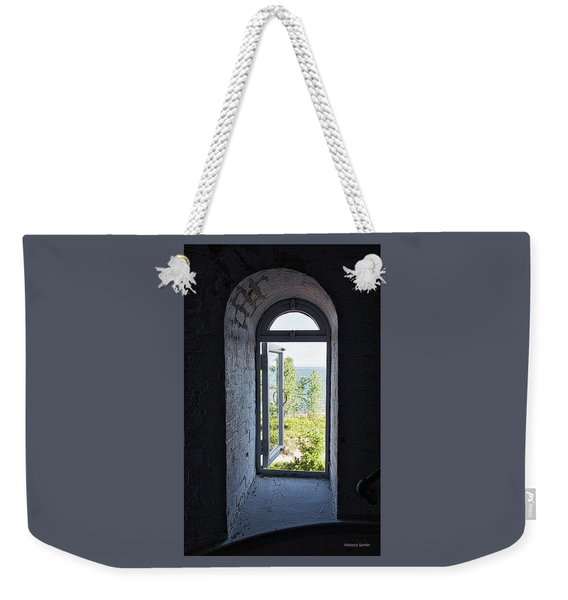 Inside The Lighthouse Weekender Tote Bag