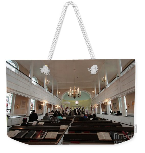 Inside The St. Georges Episcopal Anglican Church Weekender Tote Bag