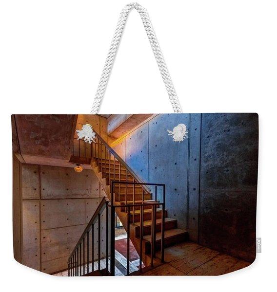 Inside The Stairwell Weekender Tote Bag