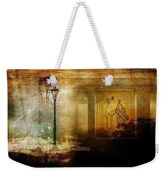 Inside Where It's Warm Weekender Tote Bag