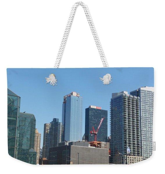 Insomnia City Weekender Tote Bag
