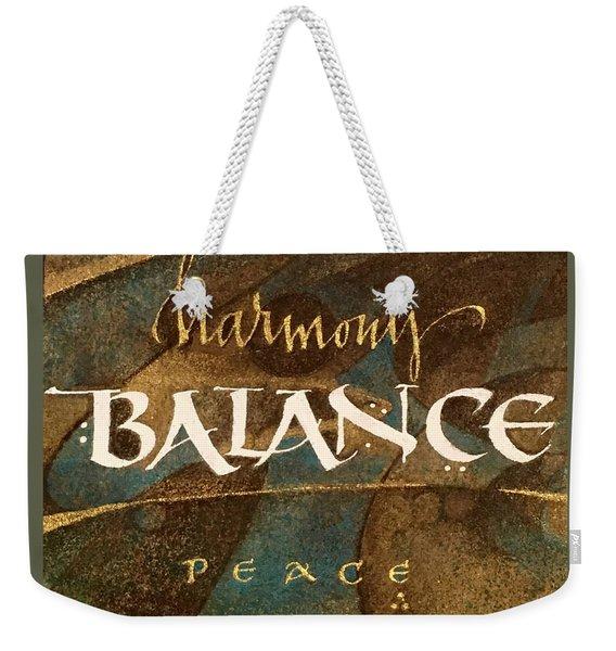 Inspirational Words Weekender Tote Bag