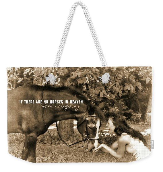 Instant Message Quote Weekender Tote Bag