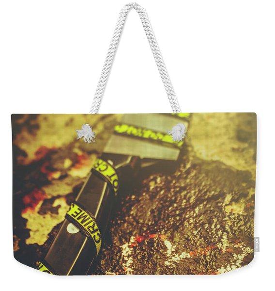 Instrument Of Crime Weekender Tote Bag