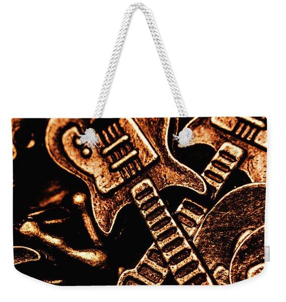 Instrumental Abstract Weekender Tote Bag