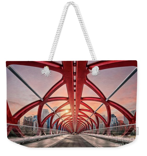 Interdimensional Travel Weekender Tote Bag