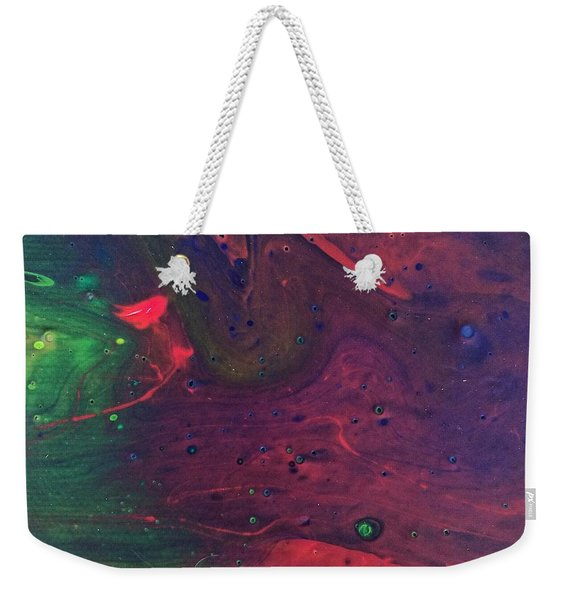 Intergalactic  Weekender Tote Bag
