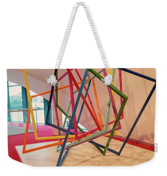Interior Of Musical Theater Hamburg Weekender Tote Bag