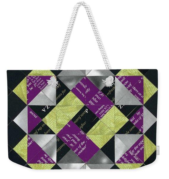 Interlock Weekender Tote Bag