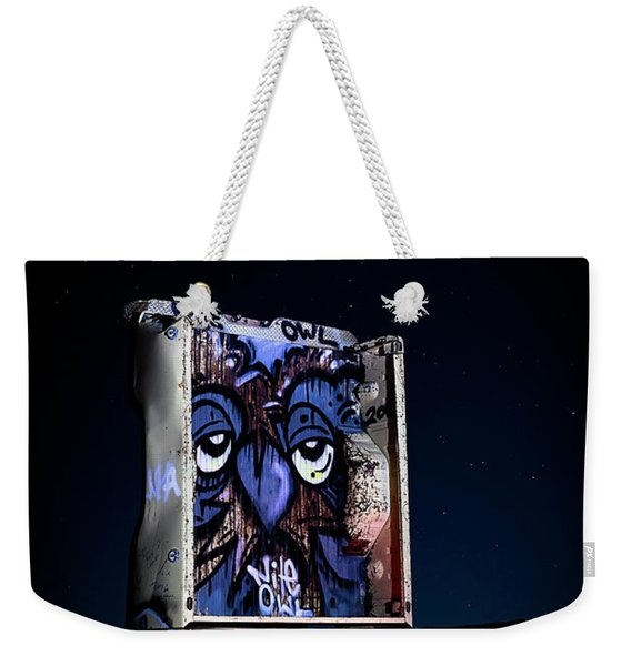 International Car Forest Of The Last Church 3 Weekender Tote Bag