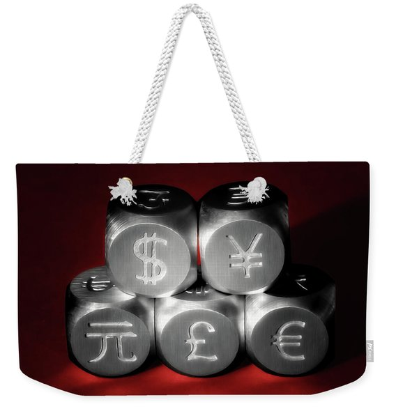 International Currency Symbols II Weekender Tote Bag