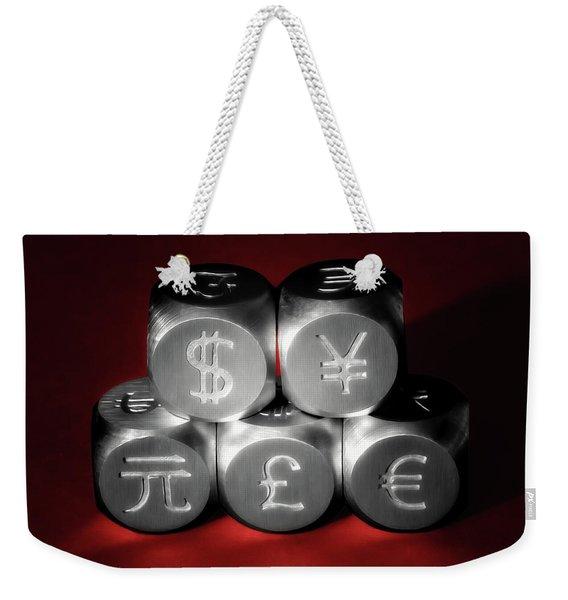 International Currency Symbols II Weekender Tote Bag