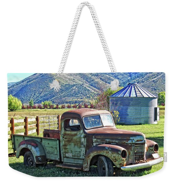 International Farm Weekender Tote Bag
