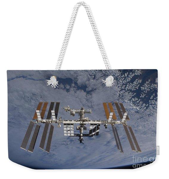 International Space Station Set Weekender Tote Bag