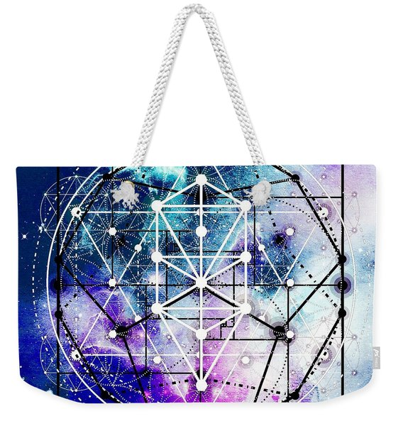 Weekender Tote Bag featuring the digital art Intertwined  by Bee-Bee Deigner