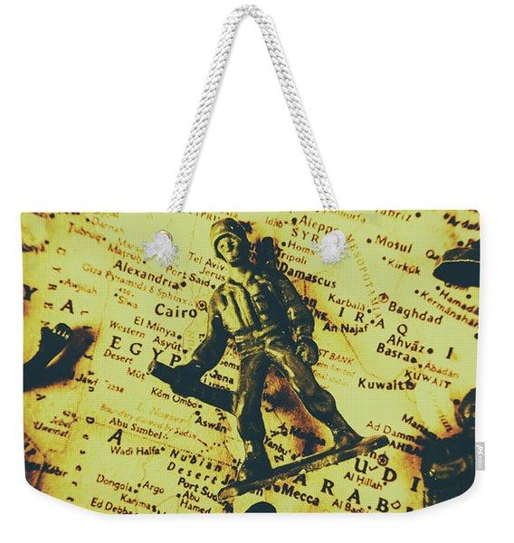 Interventionism Weekender Tote Bag