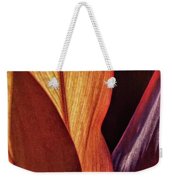 Interweaving Leaves I Weekender Tote Bag