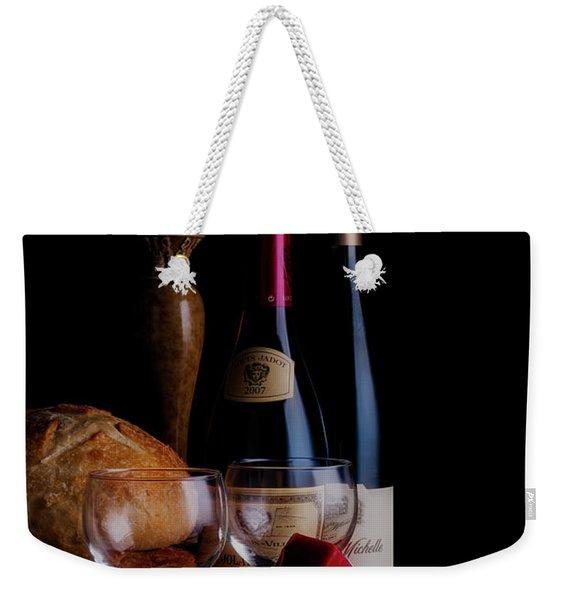Intimate Evening Weekender Tote Bag