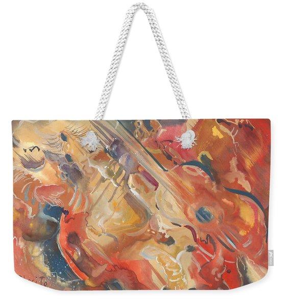 Intimate Guitar Weekender Tote Bag