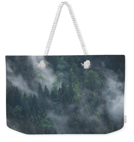 Into Deep Forest Weekender Tote Bag