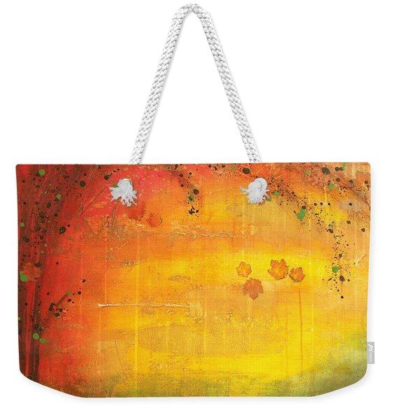 Into Fall - Tree Series Weekender Tote Bag