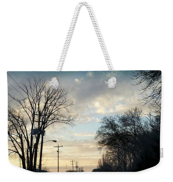 Into New Country Weekender Tote Bag