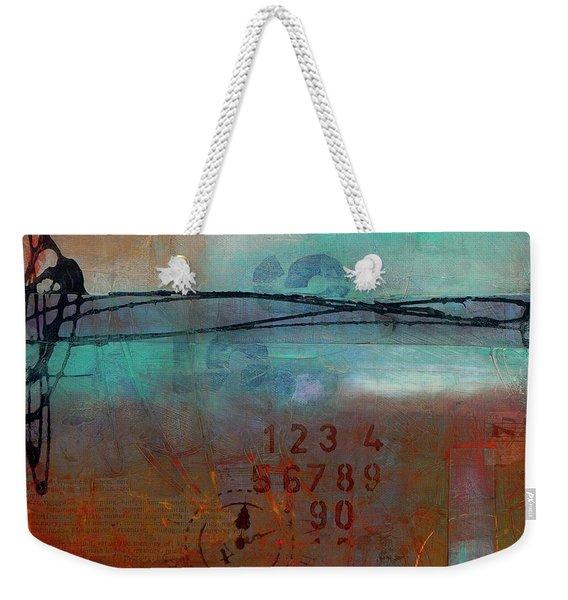 Into Retrospection Weekender Tote Bag
