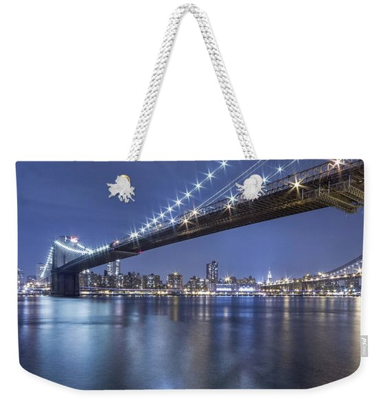 Into The Arms Of The Night Weekender Tote Bag