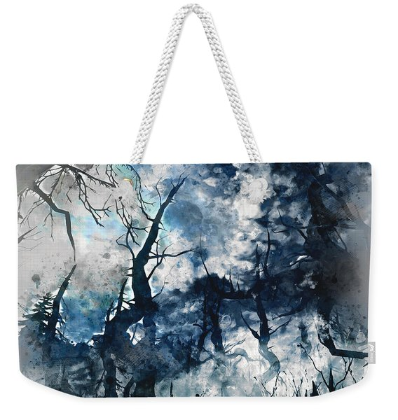 Into The Darkness - 01 Weekender Tote Bag