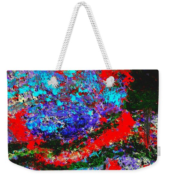 Into The Forest Of Midnight Weekender Tote Bag