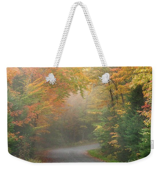 Into The Mist Weekender Tote Bag