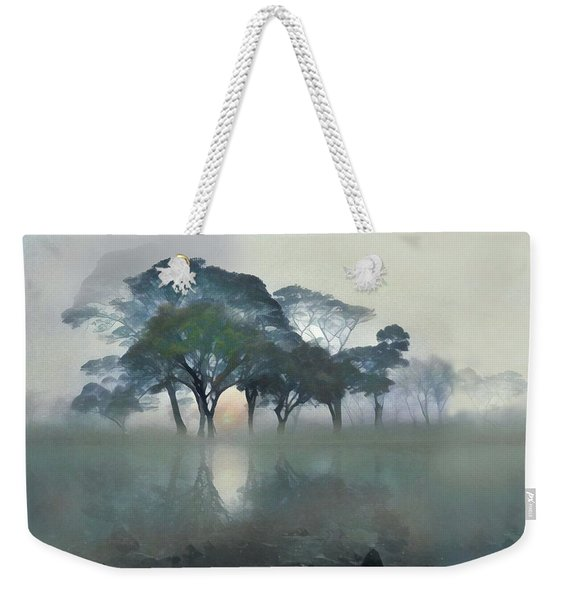 Into The Mist Weekender Tote Bag