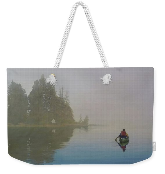 Into The Mistic Weekender Tote Bag