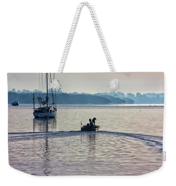Into The Morning Light Weekender Tote Bag