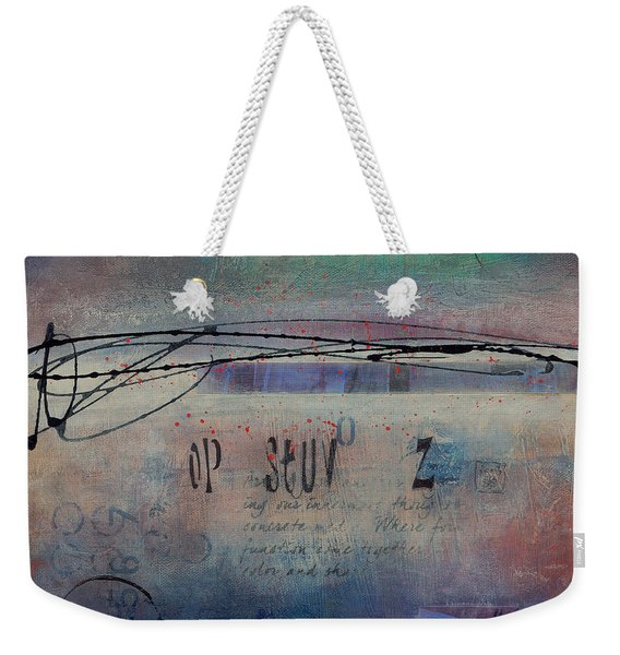 Into The Mystery Weekender Tote Bag