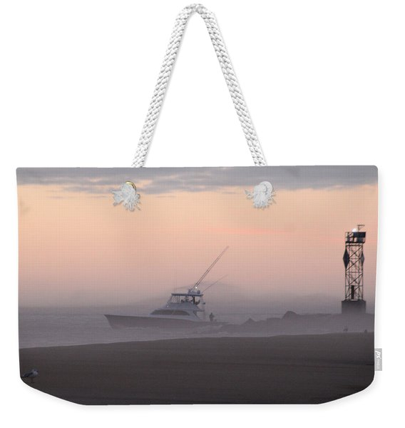 Into The Pink Fog Weekender Tote Bag
