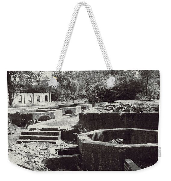 Into The Ruins 1 Weekender Tote Bag