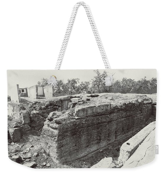 Into The Ruins 5 Weekender Tote Bag
