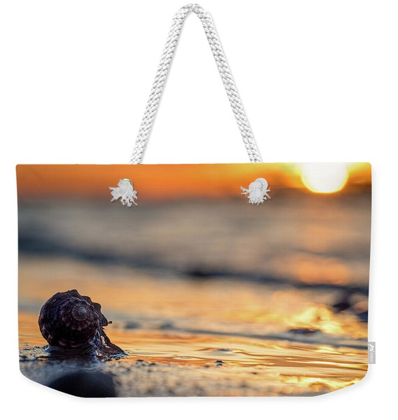 Into The Surf Weekender Tote Bag